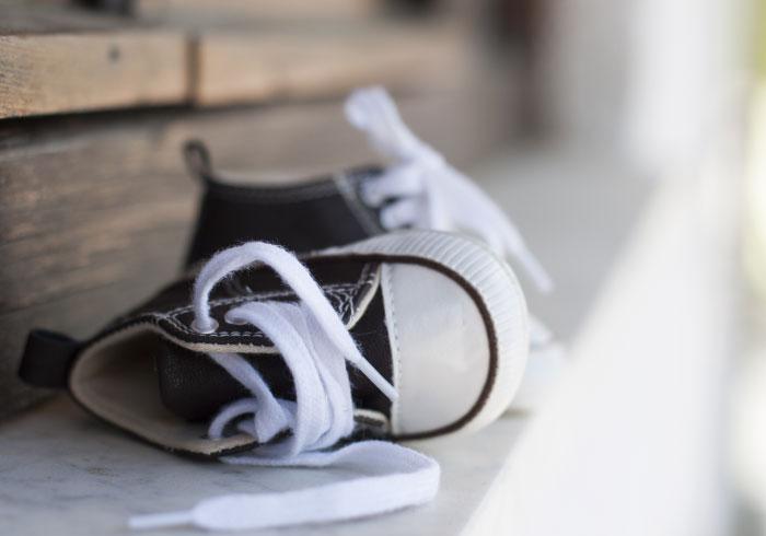靴を履きたがらないのは、この子の持って生まれた個性なんだ