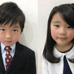<span>子どものヘアスタイル</span> 卒園式&入学式、ママが自宅でできるヘアアレンジ【男の子・女の子】