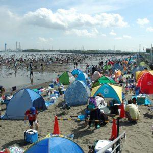 <span>おでかけニュース【千葉】</span> GWから夏休みまで、たっぷり遊べる富津海岸潮干狩り