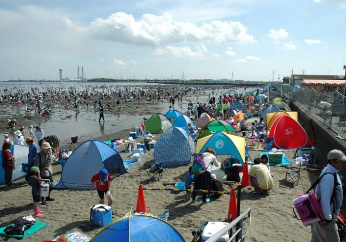 GWから夏休みまで、たっぷり遊べる富津海岸潮干狩り