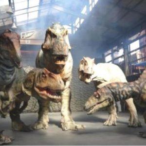 <span>おでかけニュース【東京】</span> ティラノサウルスは8メートル。動く恐竜たちに、親子で大興奮!【親子のGWのおでかけ・東京】