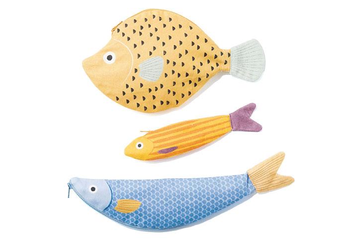 魚ばかりをモチーフにした、ユニークなハンドメイドブランド