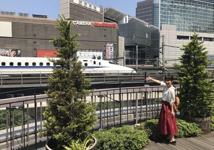 東海道新幹線が目の高さで、間近に見えるスポット【ママ鉄・豊岡真澄の親子でおでかけ】