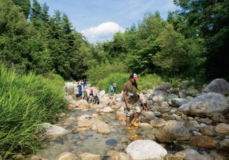 「水の山」南アルプスへ。父子キャンプも参加者募集!