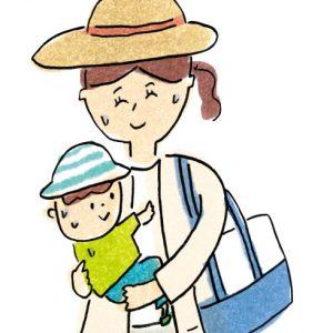 <span>0・1・2 歳向け</span> 服の色にも気をつけて! 子どもを蚊から守るためのポイント3つ