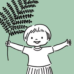 <span>山本祐布子の「子どものいる風景」</span> たったひとりで、長い、長い夏休みの時間をすごした、みとちゃん