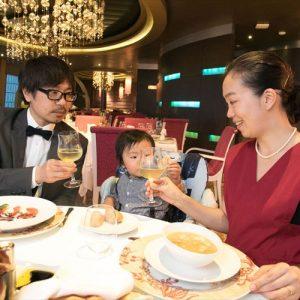 <span>豪華クルーズ旅レポート・3</span> 子連れでフォーマルディナーも。選ぶのが楽しい、船上の食事をレポート!【「コスタ ネオロマンチカ」乗船レポート】