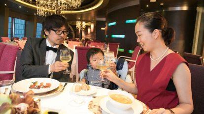 子連れでフォーマルディナーも。選ぶのが楽しい、船上の食事をレポート!【 …
