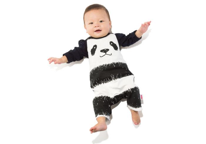 上野のパンダ誕生記念! 限定生産のキュートなロンパース