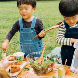 <span>公園ピクニック特集・2</span> プラスワンのアイテムで、フードがおいしく華やかに【公園ピクニック特集】