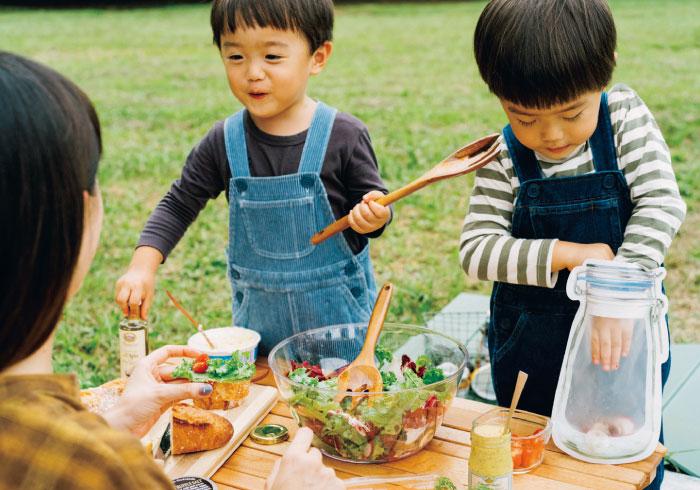 プラスワンのアイテムで、フードがおいしく華やかに【公園ピクニック特集】