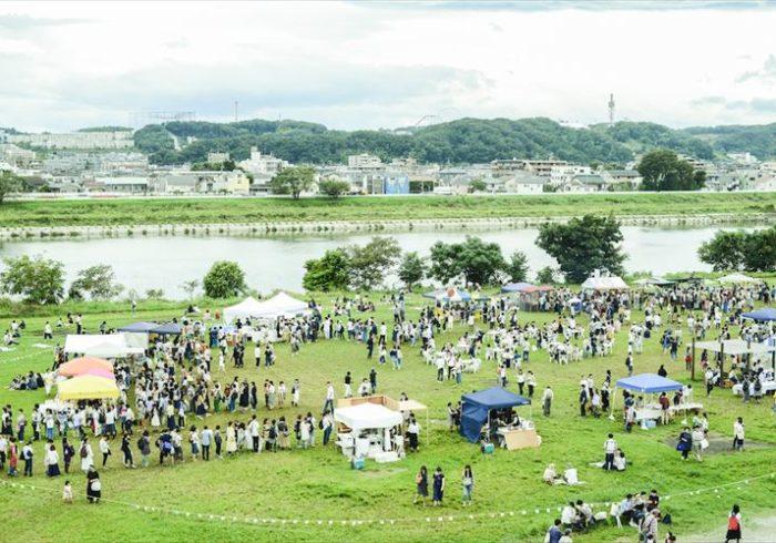多摩川河川敷の文化祭、「もみじ市」が今年も開催!