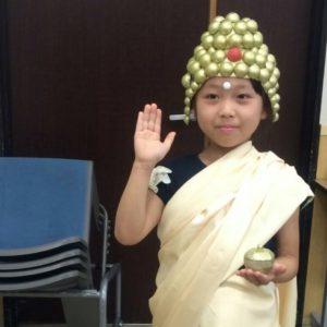 <span>育て! クリエイティビティ!</span> 我が子が仏像に変身…? 仏像を身近に学ぶオモシロ体験!