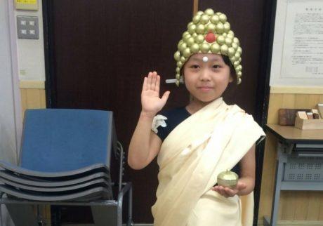 我が子が仏像に変身…? 仏像を身近に学ぶオモシロ体験!