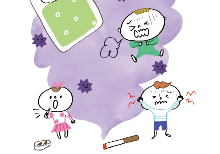 危険なのは煙だけじゃない。たばこの害、ちゃんと知っていますか?