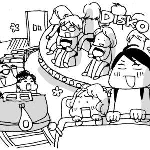 子連れにぴったり。浅草「花やしき」の休日【カツヤマケイコの絵日記】
