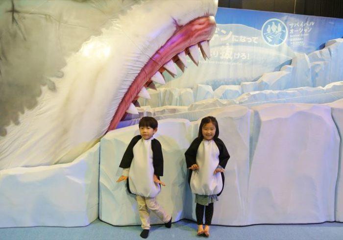 お台場・日本科学未来館の「生きものになれる展」に行ってきました!