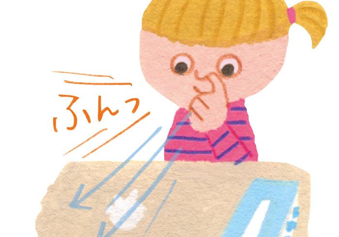 ゲーム感覚、がポイント! 鼻のかみかたはこう教える