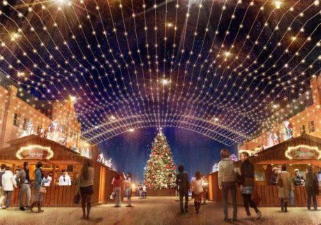 サンタに会えるかも!? 横浜赤レンガ倉庫のクリスマスマーケット