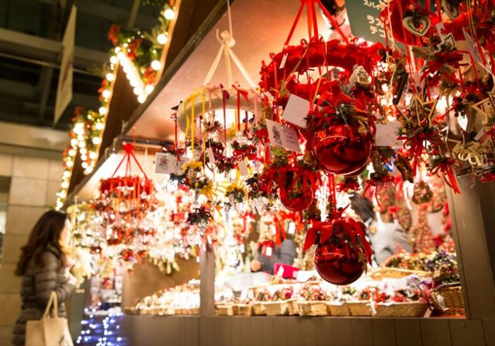 生のもみの木も販売。六本木ヒルズの本格的クリスマスマーケット