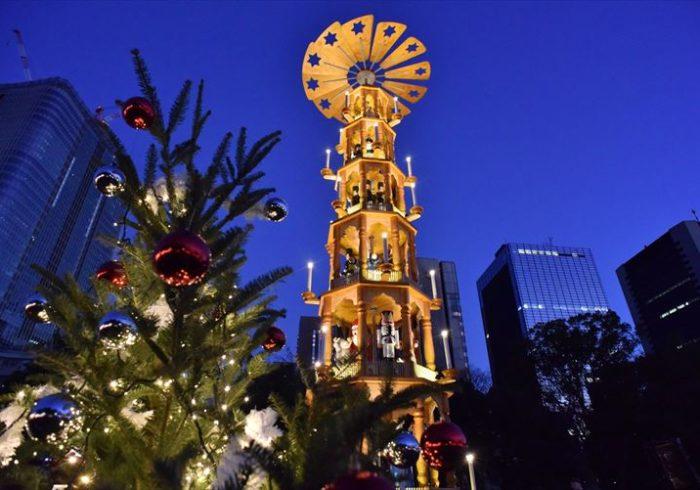 絵本の読み聞かせイベントも。日比谷公園で開催の「東京クリスマスマーケット2017」