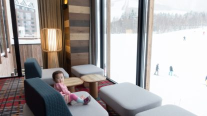 オープンしたてのスキーリゾート。キッズにやさしいリゾート内をご紹介!