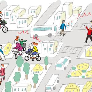 <span>0・1・2 歳向け</span> 一瞬で加害者に。自転車送迎で気をつけたい危険な場所3つ