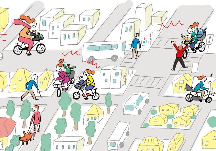 一瞬で加害者に。自転車送迎で気をつけたい危険な場所3つ