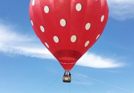 横浜でイチゴの熱気球! 『Yokohama Strawberry Festival 2018』開催