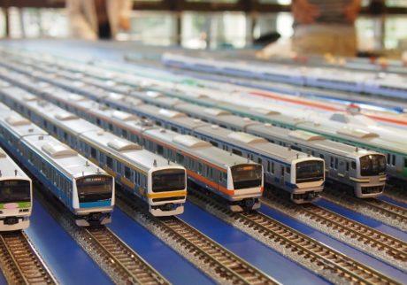 電車キッズにうれしい! 本格的な鉄道模型運転会