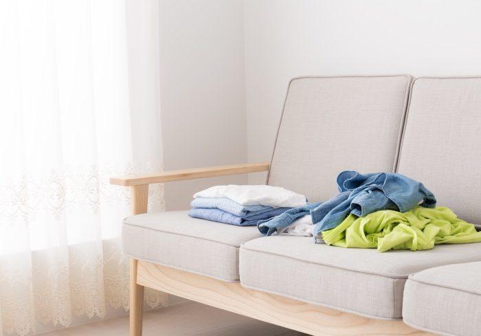 部屋着やパジャマ、たたむのをやめてみた!【新連載・ずぼらママの「ムダ家事、やめてみた」】