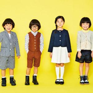 <span>春ファッション特集・5</span> 卒園・入学式にも、じいじばあばとの食事にも。着回しできる「ハレの日の服」コーディネート8選