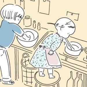お手伝いで発見した、娘たちの知らなかった一面【山本祐布子の「子どものいる風景」】