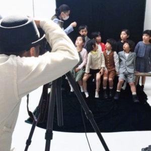 <span>取材エピソード</span> 読者モデルのキッズたちの撮影現場をレポート!