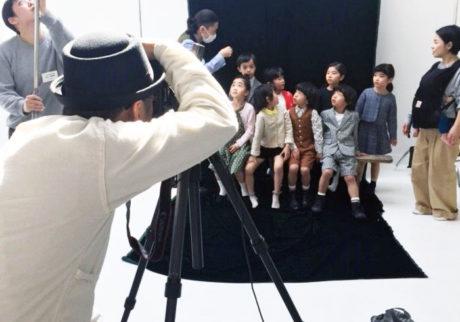 読者モデルのキッズたちの撮影現場をレポート!
