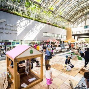 <span>おでかけニュース【東京】</span> アークヒルズで開催! 親子で木育を楽しむGWイベント