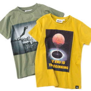 <span>kid's FASHION</span> この夏狙い目! デンマーク発MoloのTシャツ