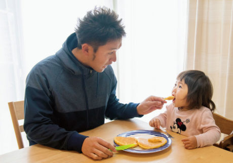 料理が得意で掃除も洗濯もしっかりやってくれる。完璧パパのいまのお悩みは?