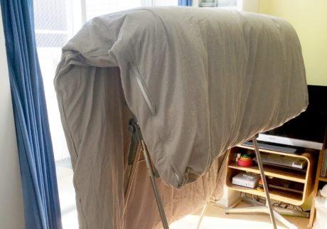 布団の外干しやめてみた! 部屋でも「お日さまのにおい」にする方法【ずぼらママの「ムダ家事、やめてみた」】