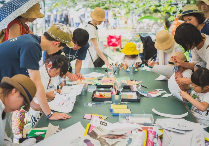 親子で楽しくアートに触れる。千葉・佐倉で「にわのわ」開催!