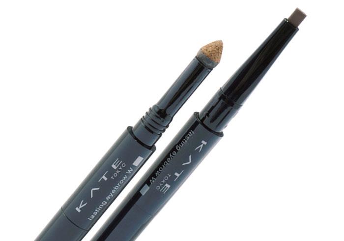 細眉も太眉も自在に描ける。1本あると便利な、楕円形のペンシル