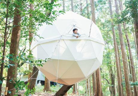 球体テントに、モバイルハウス。この夏はおしゃれにコテージステイ!