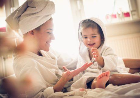 子どもとシェアすれば、バスルームもスッキリ! インバスアイテム5選