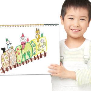 <span>NEWS</span> 子どもが描いた絵がリアルなケーキに! 「夢のクリスマスケーキコンテスト 2018」