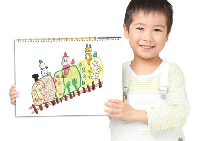 子どもが描いた絵がリアルなケーキに! 「夢のクリスマスケーキコンテスト 2018」
