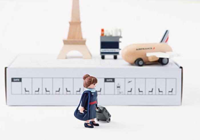 木のおもちゃで人気のkiko+がエールフランスとコラボ
