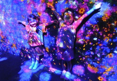 お台場にオープン! 話題沸騰中の 「森ビル デジタルアート ミュージアム:エプソン チームラボ ボーダレス」を体験しました!