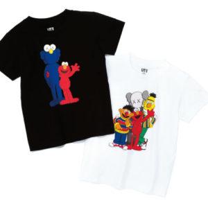 <span>kid's FASHION</span> ユニクロのTシャツブランド「UT」に、セサミストリートが登場!