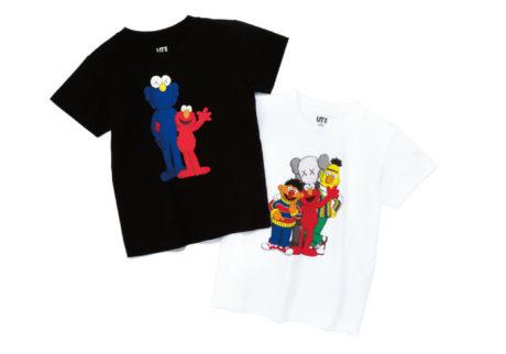ユニクロのTシャツブランド「UT」に、セサミストリートが登場!
