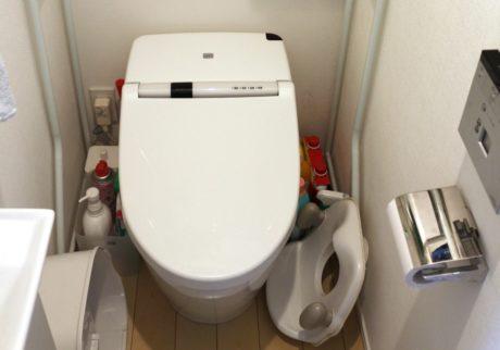 トイレの床に物を置くのをやめてみた!【ずぼらママの「ムダ家事、やめてみた」】